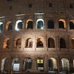 הקולוסיאום ברומא בלילה