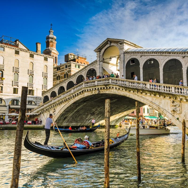 שייט בגונדולה בוונציה
