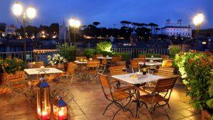מלון מוצרט רומא בערב