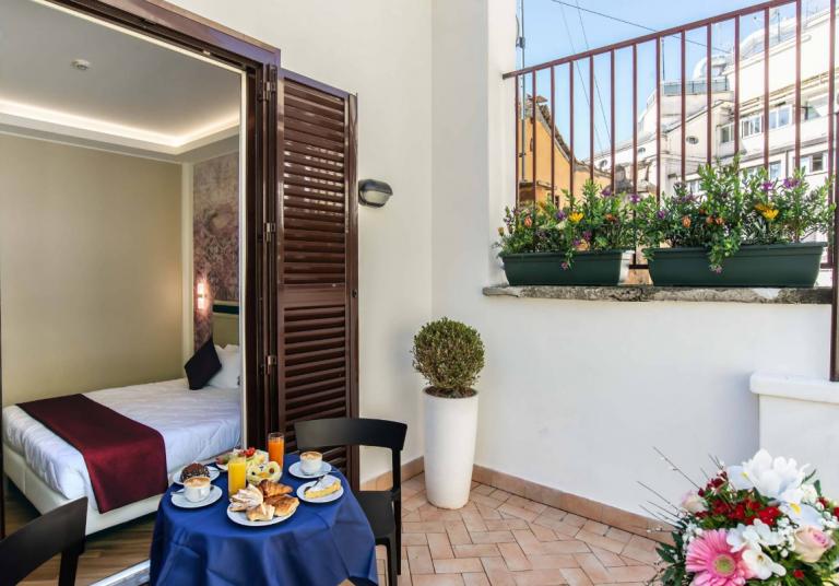 מלון ממפיס רומא (צילום מסך מאתר המלון)
